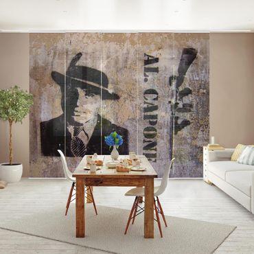 Schiebegardinen Set - Al Capone - Flächenvorhänge