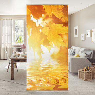 Raumteiler - Autumn Leaves 250x120cm