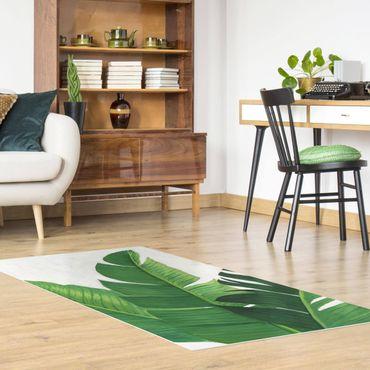 Vinyl-Teppich - Lieblingspflanzen - Banane - Hochformat 1:2