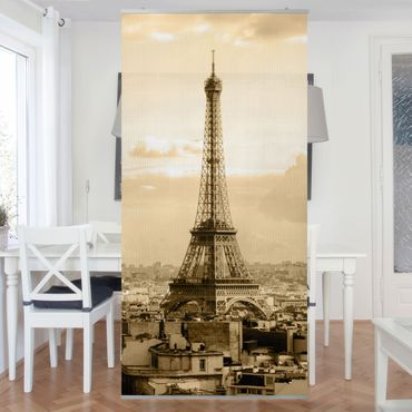 Raumteiler - I Love Paris 250x120cm