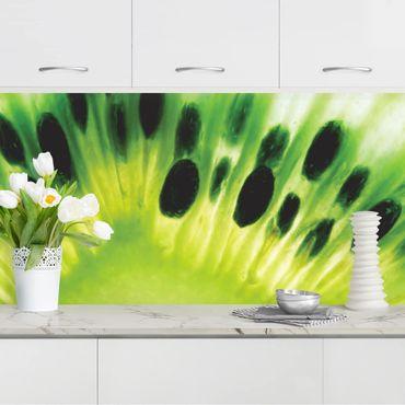 Küchenrückwand - Shining Kiwi