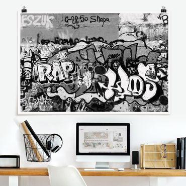 Poster - Graffiti Art - Querformat 2:3
