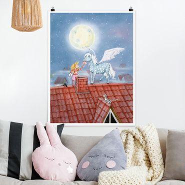 Poster - Maries Zauberpony - Hochformat 3:4