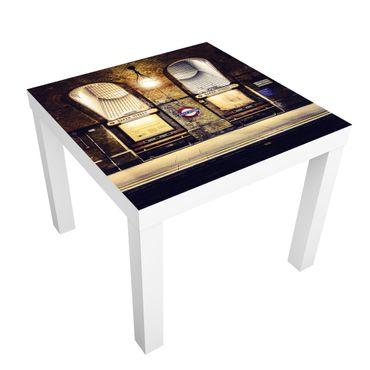 Möbelfolie für IKEA Lack - Klebefolie Baker Street