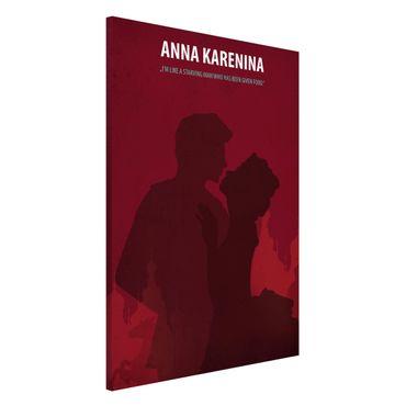 Magnettafel - Filmposter Anna Karenina - Memoboard Hochformat 3:2