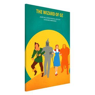 Magnettafel - Filmposter The Wizard of Oz - Memoboard Hochformat 3:2