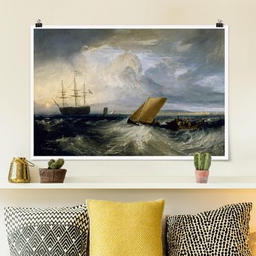 Poster - William Turner - Sheerness - Querformat 2:3