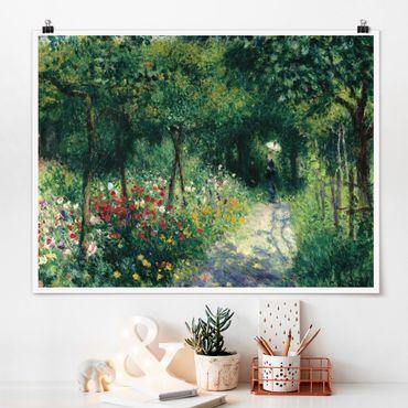 Poster - Auguste Renoir - Frauen im Garten - Querformat 3:4