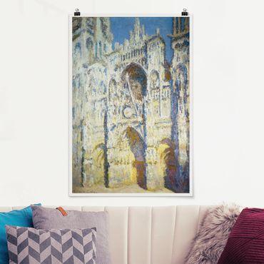 Poster - Claude Monet - Kathedrale von Rouen - Hochformat 3:2
