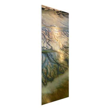 Forex Fine Art Print - Küste in Kuwait - Panel