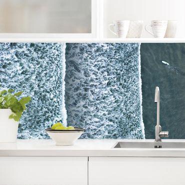 Küchenrückwand - Luftbild - Der Herausforderer