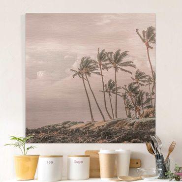 Leinwandbild - Aloha Hawaii Strand II - Quadrat 1:1