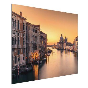 Aluminium Print - Goldenes Venedig - Querformat 3:4