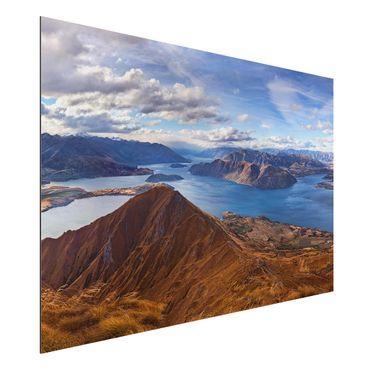 Alu-Dibond Bild - Roys Peak in Neuseeland