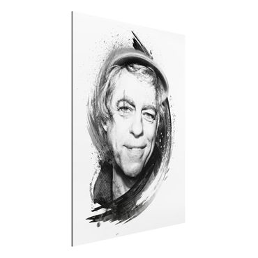 Alu-Dibond Bild - Bob Geldof