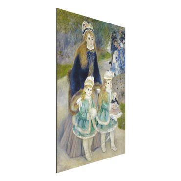 Alu-Dibond Bild - Auguste Renoir - Mutter und Kinder
