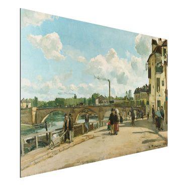 Alu-Dibond Bild - Camille Pissarro - Ansicht von Pontoise