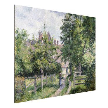 Alu-Dibond Bild - Camille Pissarro - Saint-Martin bei Gisors