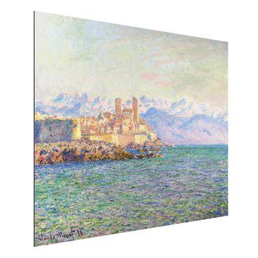 Alu-Dibond Bild - Claude Monet - Antibes, Le Fort