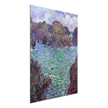 Alu-Dibond Bild - Claude Monet - Port-Goulphar, Belle-Île