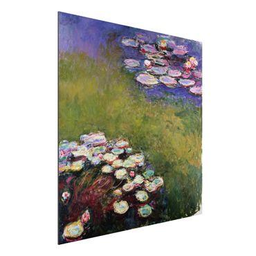 Alu-Dibond Bild - Claude Monet - Seerosen