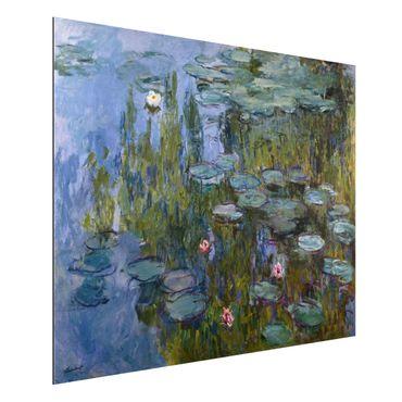 Alu-Dibond Bild - Claude Monet - Seerosen (Nympheas)