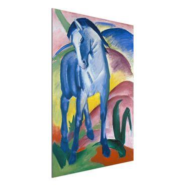Alu-Dibond Bild - Franz Marc - Blaues Pferd I