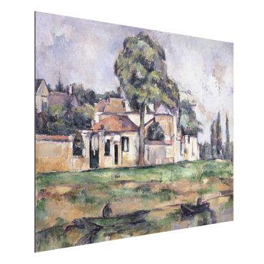Alu-Dibond Bild - Paul Cézanne - Am Ufer der Marne
