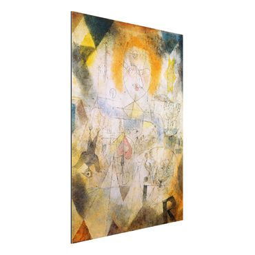 Alu-Dibond Bild - Paul Klee - Irma Rossa, die Bändigerin