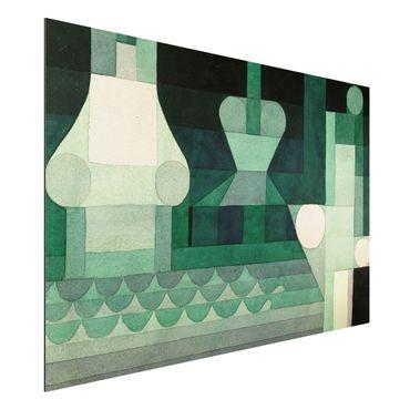 Alu-Dibond Bild - Paul Klee - Schleusen