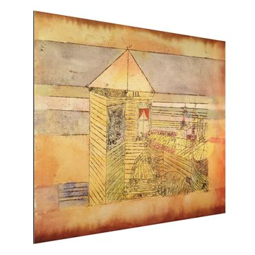 Alu-Dibond Bild - Paul Klee - Wunderbare Landung, oder '112!'