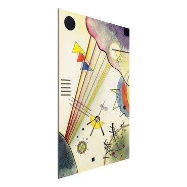 Alu-Dibond Bild - Wassily Kandinsky - Deutliche Verbindung
