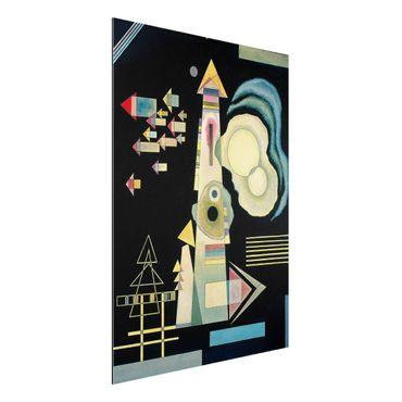 Alu-Dibond Bild - Wassily Kandinsky - Pfeile