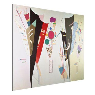 Alu-Dibond Bild - Wassily Kandinsky - Wechselseitiger Gleichklang
