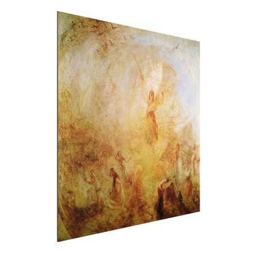 Alu-Dibond Bild - William Turner - Der Engel vor der Sonne