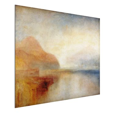 Alu-Dibond Bild - William Turner - Monte Rosa