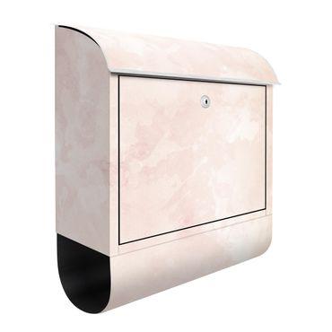 Briefkasten - Aquarellstruktur Cremefarbene Sanddüne