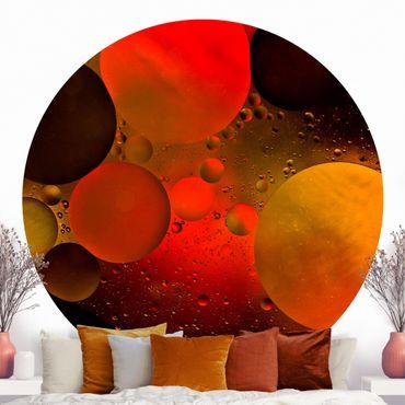 Runde Tapete selbstklebend - Astronomisch