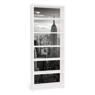 Möbelfolie für IKEA Billy Regal - Klebefolie No.34 Manhattan Skyline Panorama