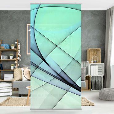 Raumteiler - Autumn Shapes 250x120cm