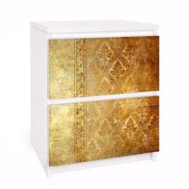 Möbelfolie für IKEA Malm Kommode - Selbstklebefolie The 7 Virtues - Faith