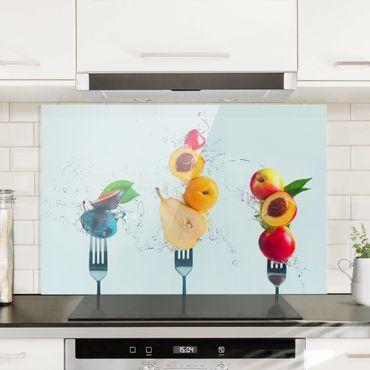 Spritzschutz Glas - Fruchtsalat - Querformat - 3:2