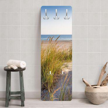 Garderobe - Stranddüne am Meer