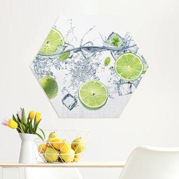 Hexagon Bild Forex - Erfrischende Limette