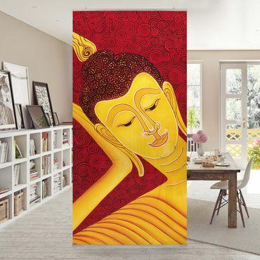 Raumteiler - Taipei Buddha 250x120cm
