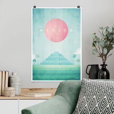Poster - Reiseposter - Mexiko - Hochformat 3:2