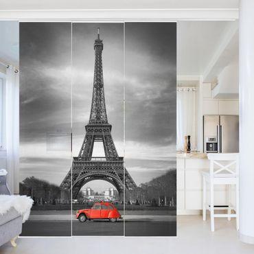 Schiebegardinen Set - Spot on Paris - Flächenvorhänge