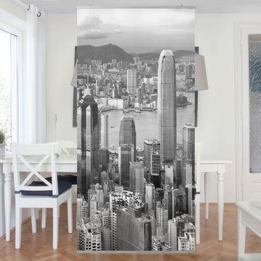 Raumteiler - Skyline Nostalgia 250x120cm