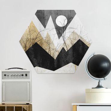 Hexagon Bild Forex - Goldene Berge Äste