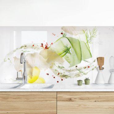 Küchenrückwand - Fischkreation